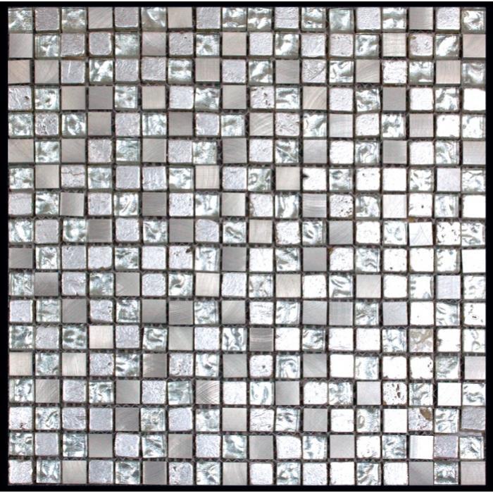 Изображение Inka Мозаика Стекло - мрамор BDA-1588 (BDA-88) 1,5х1,5