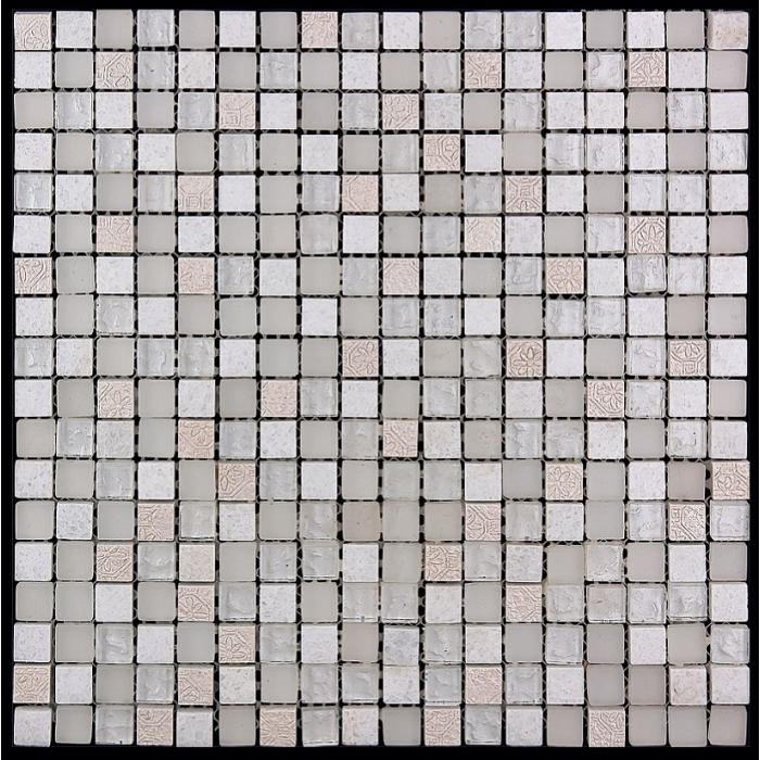 Изображение Inka Мозаика Стекло - мрамор BDA-1591 1,5х1,5