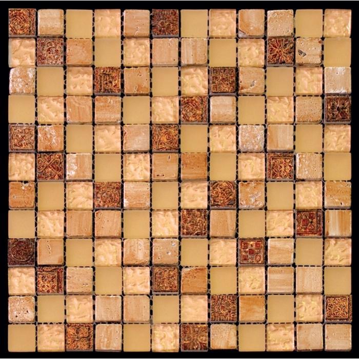 Изображение Inka Мозаика Стекло - Мрамор BDA-2321 2,3х2,3