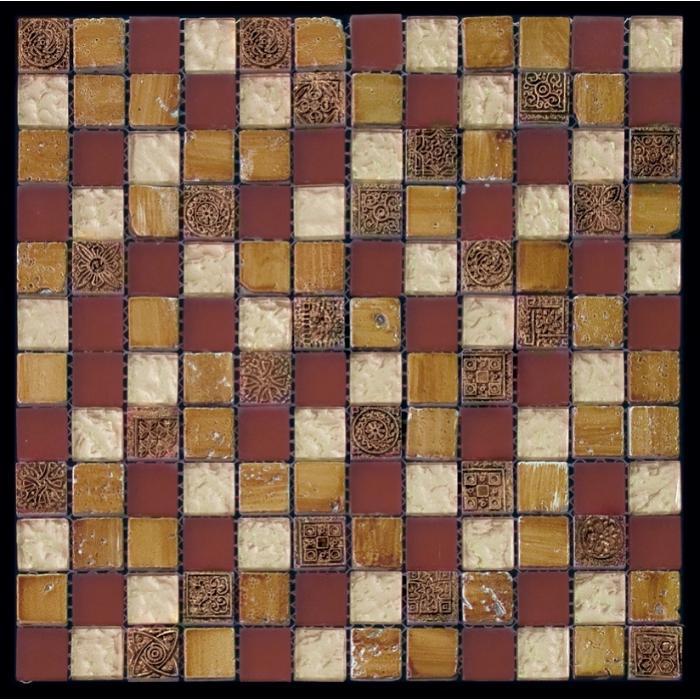 Изображение Inka Мозаика Стекло - Мрамор BDA-2322 2,3х2,3