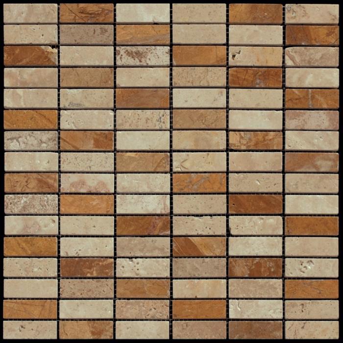 Изображение London Мозаика Мраморная Полированная 0132/MI 1,7x4,8