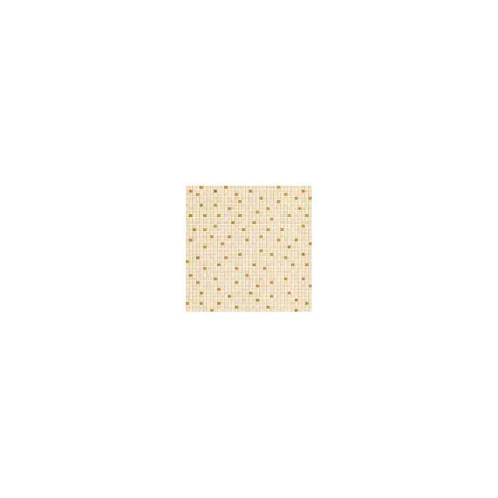 Текстура плитки Palace Mos.Random Almond/Gold 39.4x39.4
