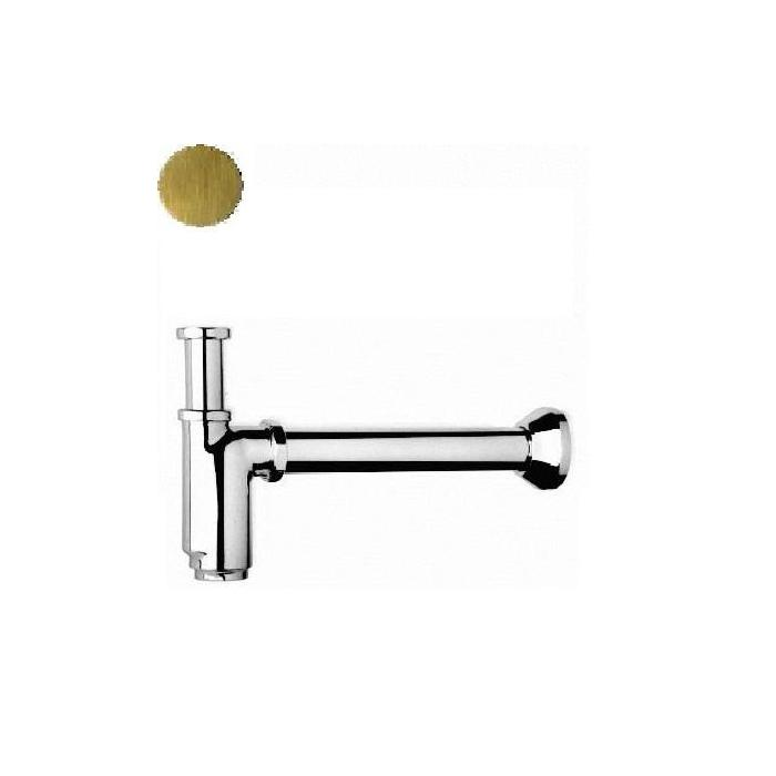 Фото сантехники Ricambi Сифон для раковины бутылочный 1-1/4, D40mm, цвет бронза