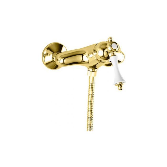 Фото сантехники MARGOT Смеситель для душа однорычажный, золото
