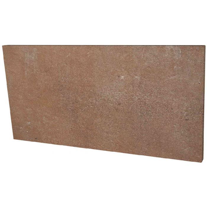 Текстура плитки Scandiano Rosso Podstopnica 14.8x30