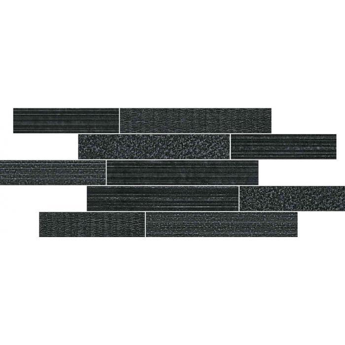 Текстура плитки Материя Брик Мультилайн Колд 29.6x79.6 (0,175м2)
