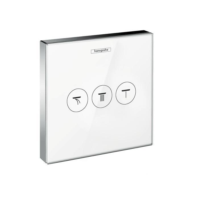 Фото сантехники Shower Select  Запорно-переключающее устройство для 3 потребителей, цвет белый - 2
