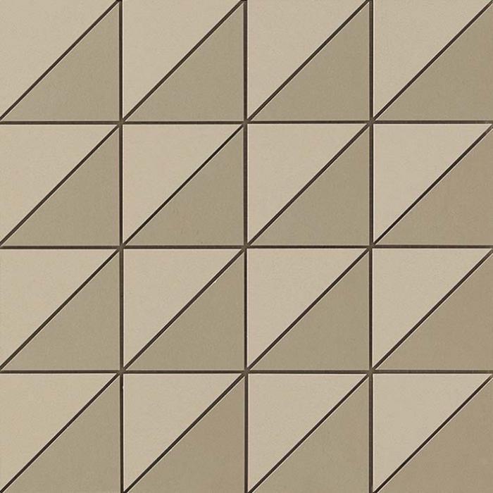 Текстура плитки Arkshade Taupe Mosaico Flag 30,5х30,5