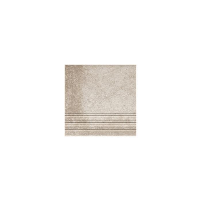Текстура плитки Viano Beige Stopnica 30x30