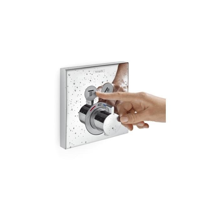 Фото сантехники Shower Select  Наружная часть термостата на 2 потребителя, цвет хром