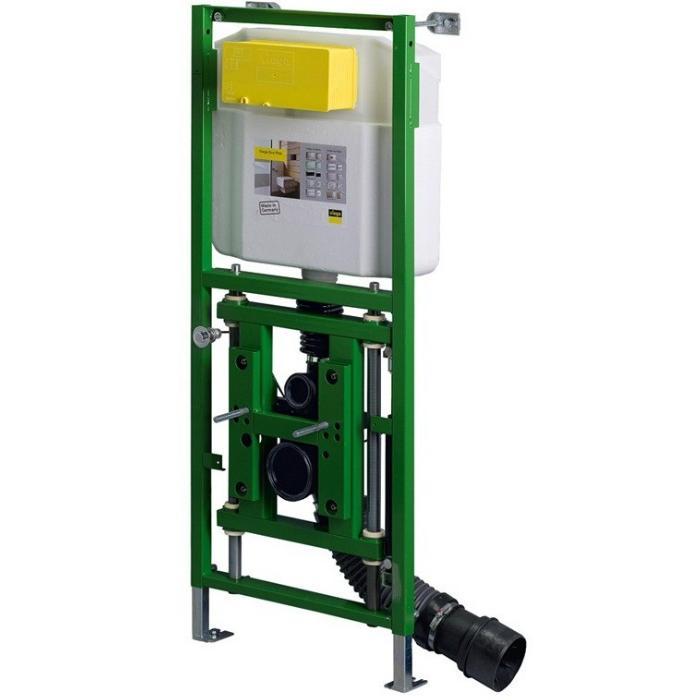 Фото сантехники Рама с изменяемой высотой установки унитаза (по типу пневмо-лифта в офисных креслах) 8см