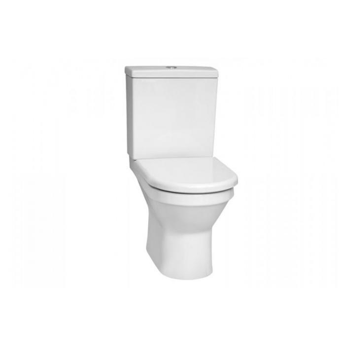 Фото сантехники S50 Унитаз напольный с функ.биде 65,5x35,5x40см бачок с механизмом, сиденье с микрол., цвет белый