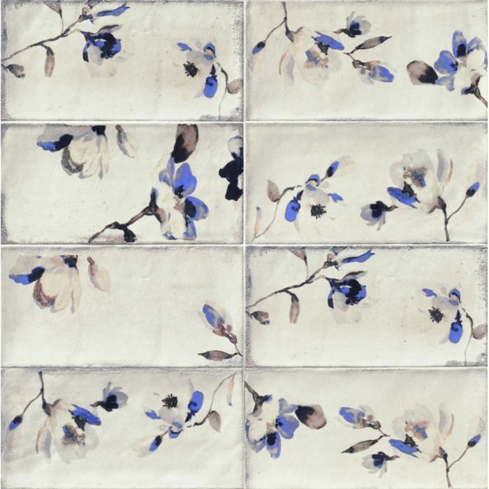 Текстура плитки Fabola Blu 15x30