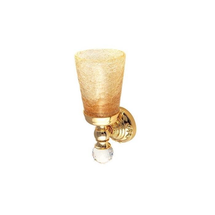 Фото сантехники Cristalia Подвесной стакан, золото