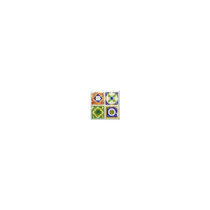 Текстура плитки Majolika Quartet Dec. 1 11.5x11.5