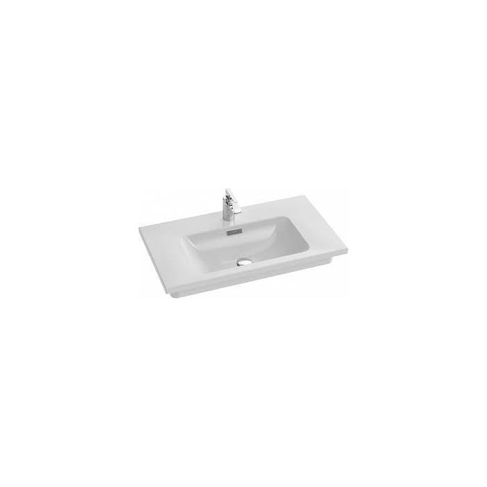 Фото сантехники VOX раковина-столешница подвесная 80x46, цвет белый