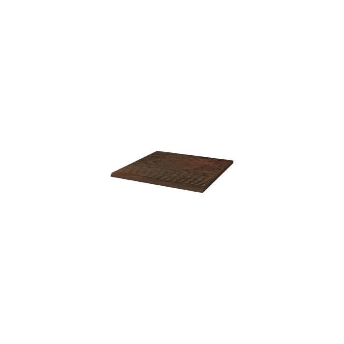 Текстура плитки Semir Brown Stopnica Klinkier Duro 30x30