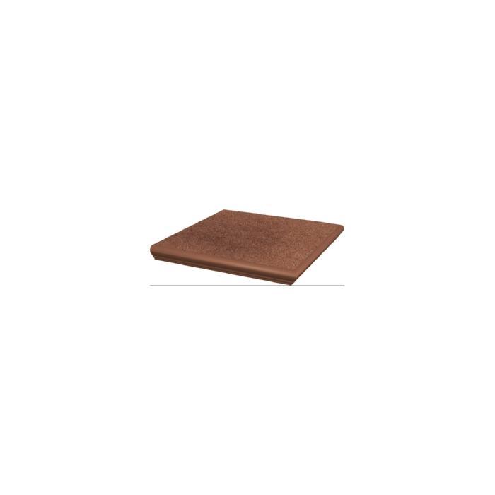 Текстура плитки Taurus Brown Stopnica narozna z kapinoza 33x33