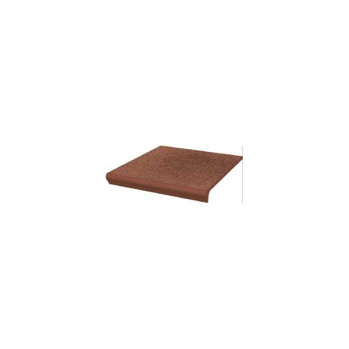 Текстура плитки Taurus Brown Stopnica z kapinoza 30x33