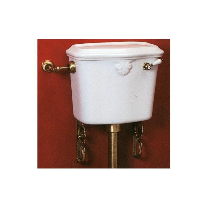 Фото сантехники Impero Бачок низкого WC с отверстием для ручки, цвет белый