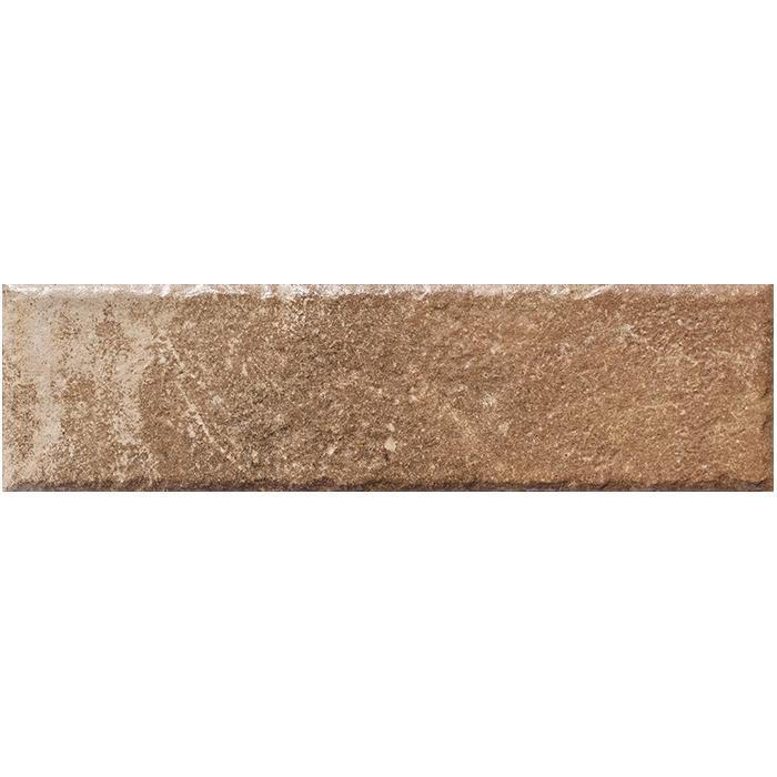 Текстура плитки Scandiano Rosso Elewacja (толщина 11 мм) 6.6x24.5