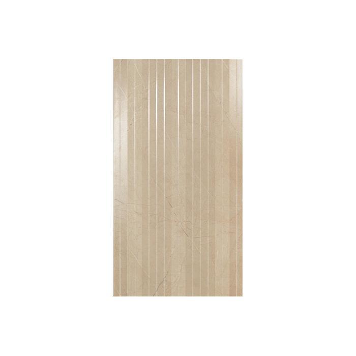 Текстура плитки Marvel Beige Stripe 30.5x56