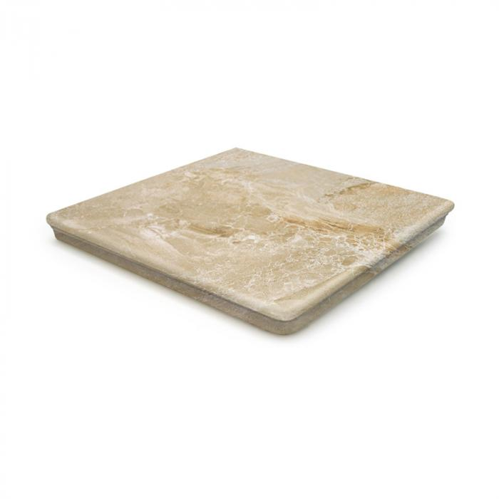 Текстура плитки Sea Rock Peldano Angular Florentino Caramel 33x33