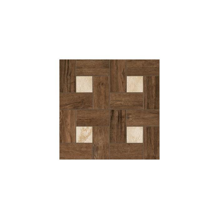 Текстура плитки НЛ-Вуд Пэппер Вставка Гламур 45x45
