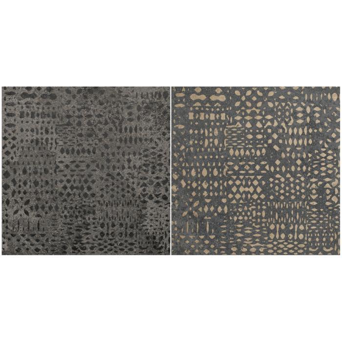 Текстура плитки Decoro Tracce2 Roccia Antracite 20x20
