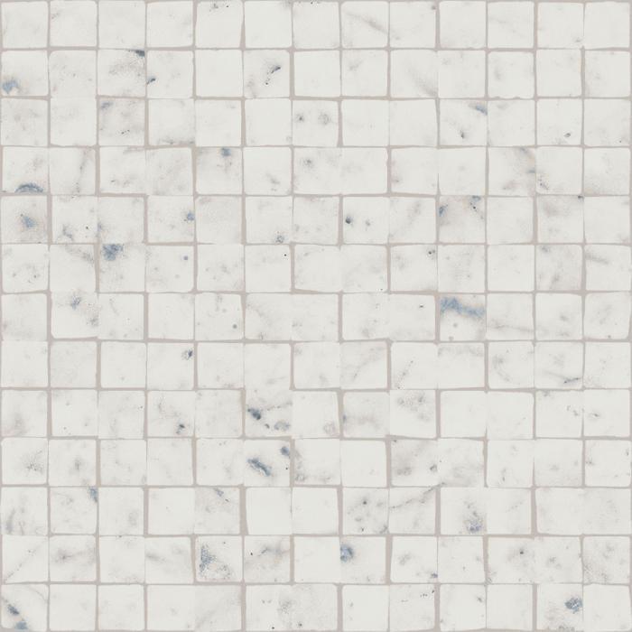 Текстура плитки Шарм Экстра Каррара Мозаика Сплит Пат. 30x30