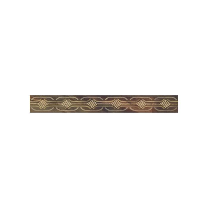 Текстура плитки Busani Brown Listwa 7x60