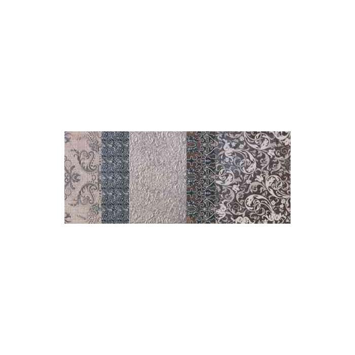 Текстура плитки Shine Turchese Batik Dec.B 24x59