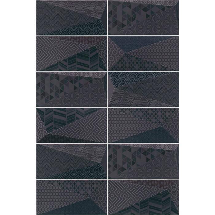 Текстура плитки Fancy Graphite 10x20