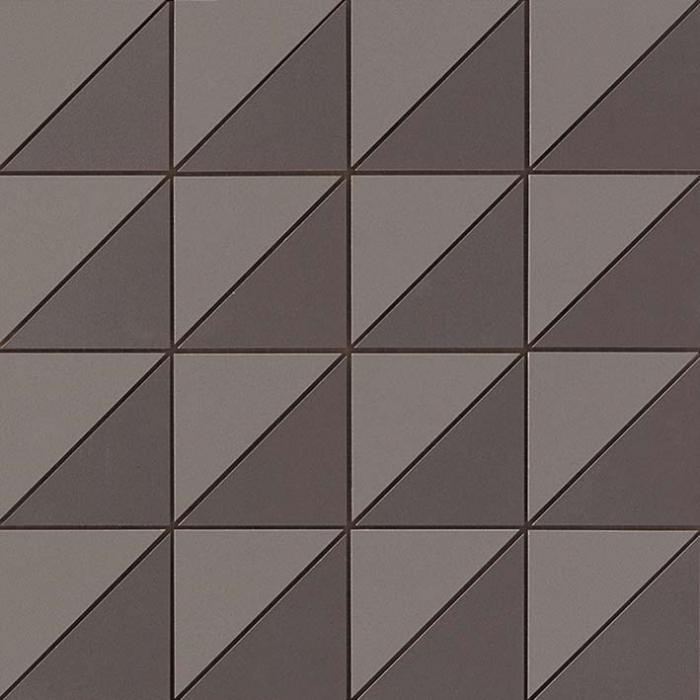 Текстура плитки Arkshade Deep Grey Mosaico Flag 30,5х30,5