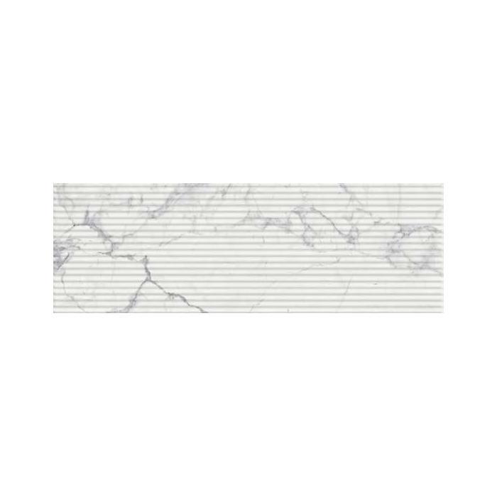 Текстура плитки Шарм Эво Статуарио Вставка Вэйв 25x75