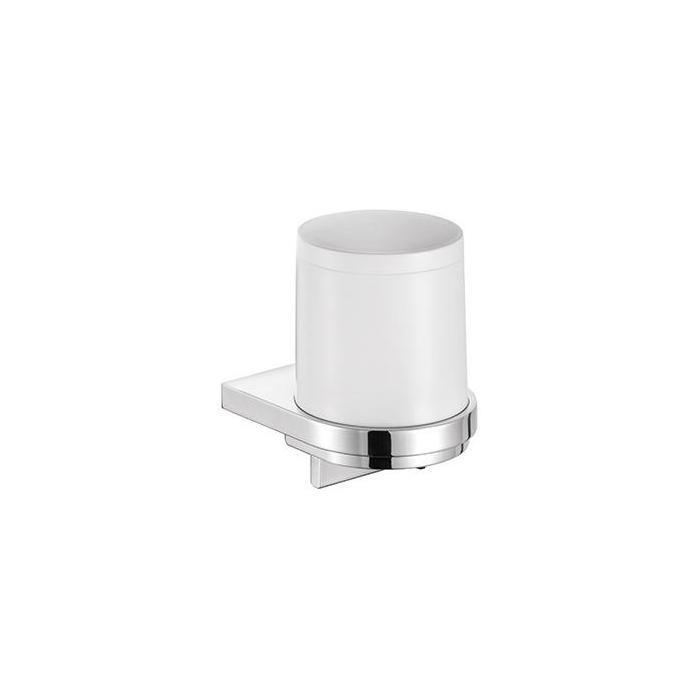 Фото сантехники Дозатор для жидкого мыла, белый/хром - 2