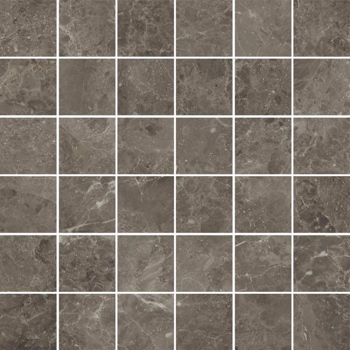 Текстура плитки Рум Грэй Мозаика 30x30