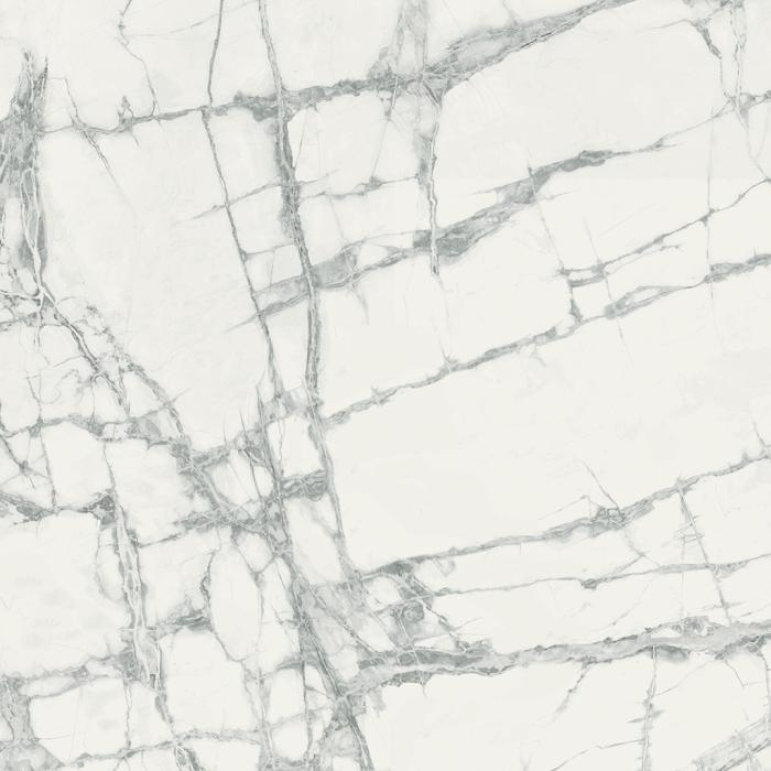 Текстура плитки Шарм Делюкс Инвизибл Уайт 80x80 Рет