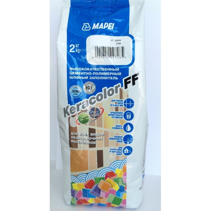 Строительная химия Keracolor FF 131  2 kg затирка цвет ваниль - 2
