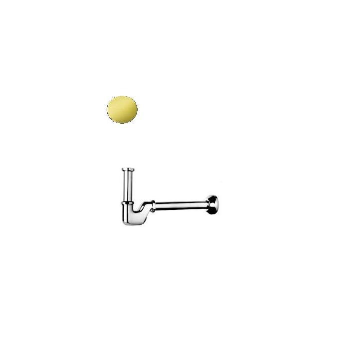 Фото сантехники Сифон для раковины и биде 11/4, цвет золото - 2