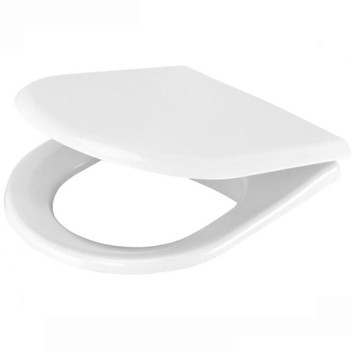 Фото сантехники PEONIA Сиденье с крышкой с функцией микролифт белый