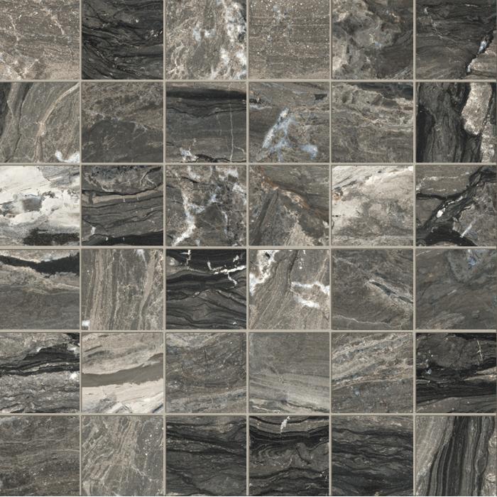 Текстура плитки Castle Mosaico Windsor Lap Ret (5x5) 30x30