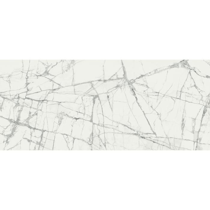 Текстура плитки Шарм Делюкс Инвизибл Уайт 120x278 Люкс - 3