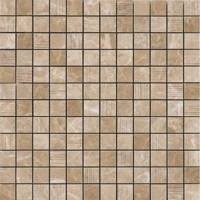 Текстура плитки Элит Грэй Мозаика 30.5x30.5