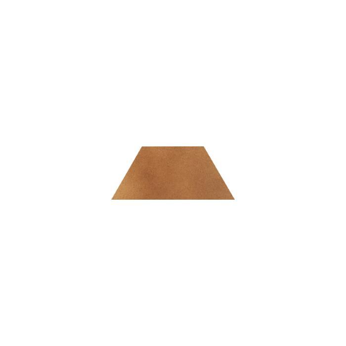 Текстура плитки Aquarius Brown Trapez 12.6x29.6