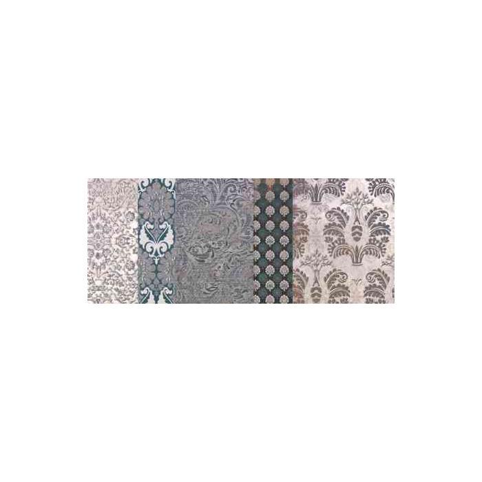 Текстура плитки Shine Turchese Batik Dec.C 24x59