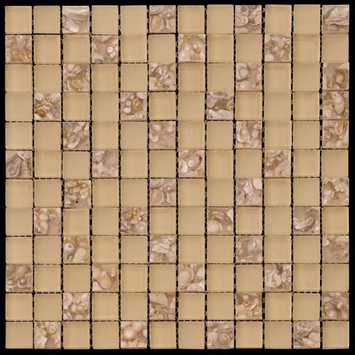Изображение Flowers Стеклянная мозаика KDS-03 2,3х2,3