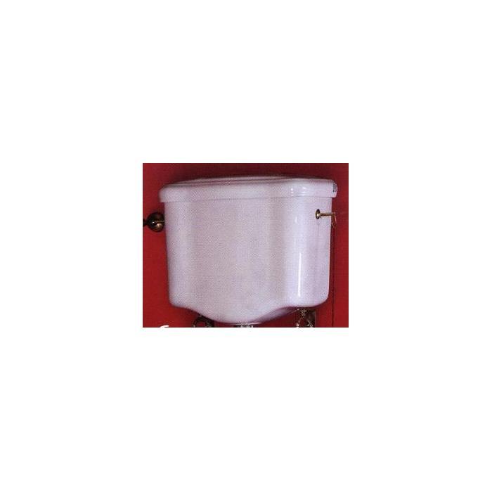 Фото сантехники Bella Бачок подвесной с высокой трубой для напольного унитаза, цвет белый