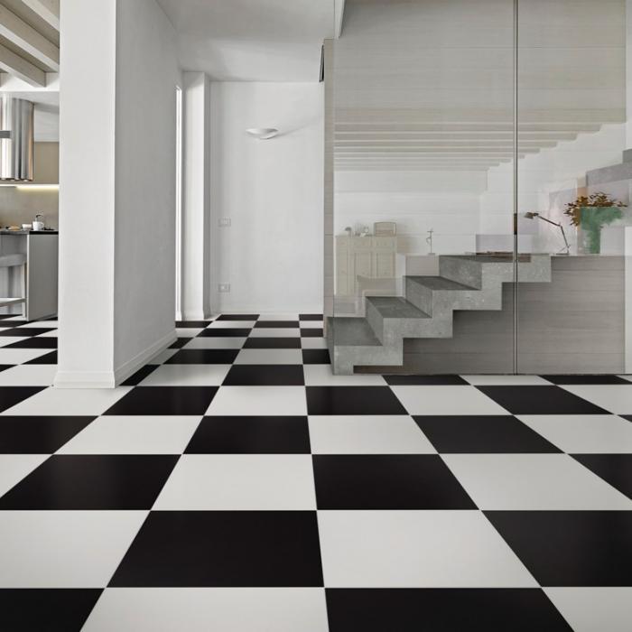 Интерьерные фото плитки из коллекции Black&White