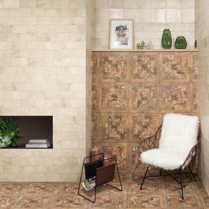 Интерьерные фото плитки из коллекции Quattrocento